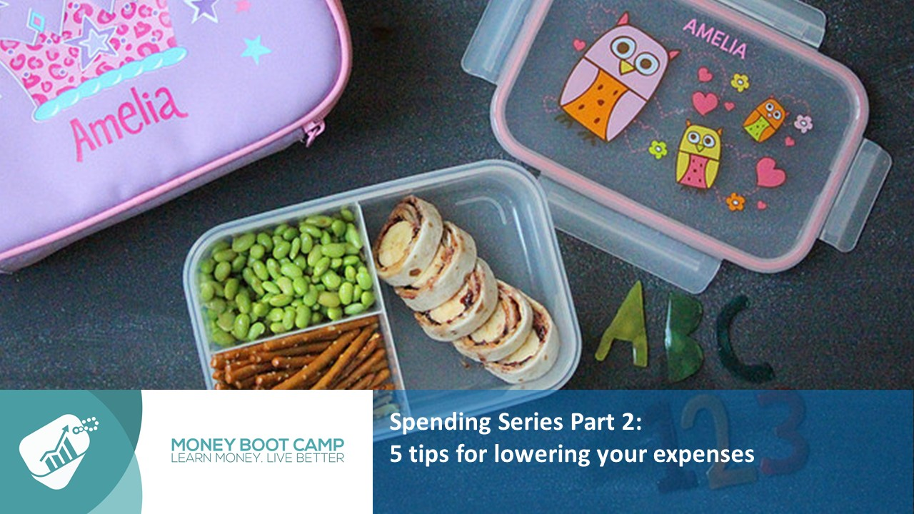 Money Boot Camp Ireland, Spending Series 2, 5 Tips for Lowering your Expenses
